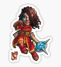 Fitzhywel's Fantastical Paraphernalia: Mage! Sticker