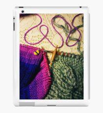 Knitting WIPs iPad Case/Skin