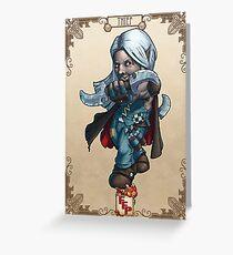 Fitzhywel's Fantastical Paraphernalia: Thief! Greeting Card