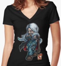 Fitzhywel's Fantastical Paraphernalia: Thief! Women's Fitted V-Neck T-Shirt