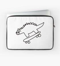 Dino Skateboard Laptop Sleeve