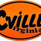 Cville Charlottesville UVA Wahoowa Sticker by katztz