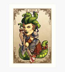 Fitzhywel's Fantastical Paraphernalia: Gorgon! Art Print