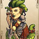 Fitzhywel's Fantastical Paraphernalia: Gorgon! by Michael Fitzhywel