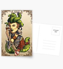 Fitzhywel's Fantastical Paraphernalia: Gorgon! Postcards
