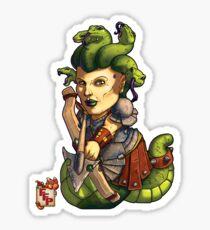 Fitzhywel's Fantastical Paraphernalia: Gorgon! Sticker