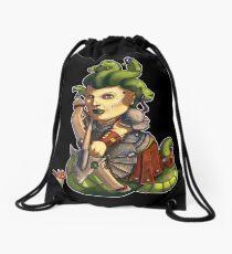 Fitzhywel's Fantastical Paraphernalia: Gorgon! Drawstring Bag