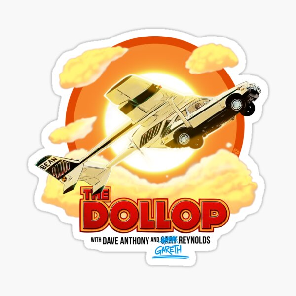 The Dollop - Flying Pinto Sticker