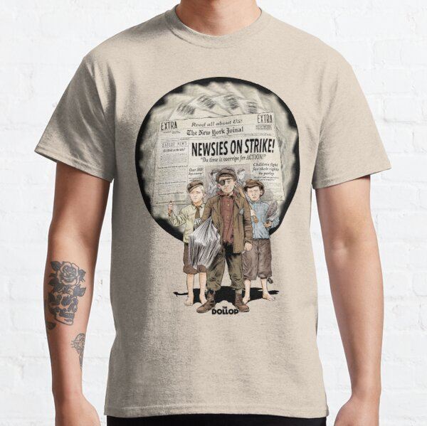 The Dollop - The Newsies Classic T-Shirt