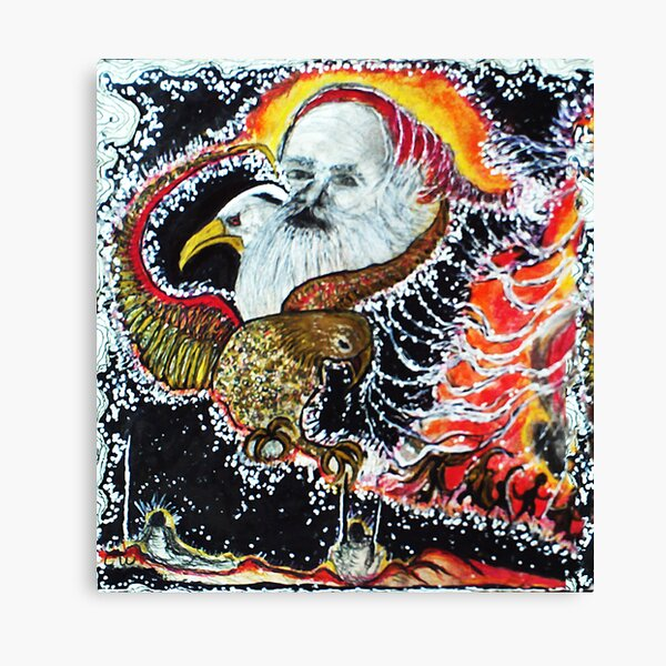 Wizard on the Wing  Canvas Print