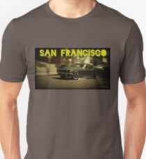 San Francisco & Muscle Cars Unisex T-Shirt