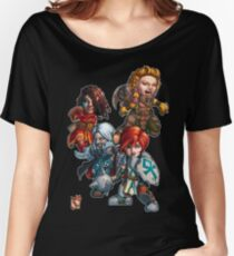 Fitzhywel's Fantastical Paraphernalia: The A Team! Women's Relaxed Fit T-Shirt