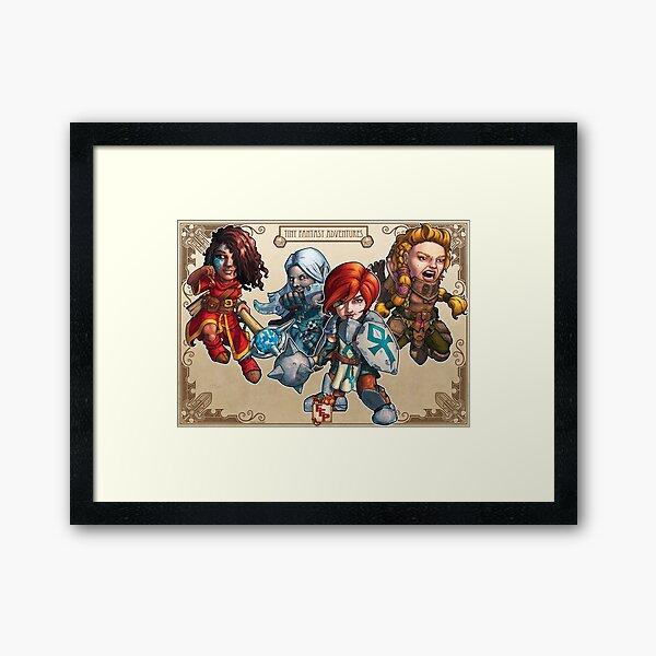Fitzhywel's Fantastical Paraphernalia: The A Team! Framed Art Print