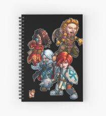 Fitzhywel's Fantastical Paraphernalia: The A Team! Spiral Notebook