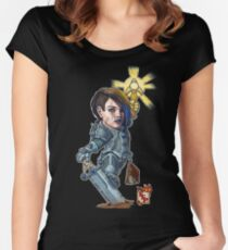 Fitzhywel's Fantastical Paraphernalia: Paladin! Women's Fitted Scoop T-Shirt