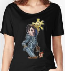 Fitzhywel's Fantastical Paraphernalia: Paladin! Women's Relaxed Fit T-Shirt