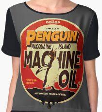 The Dollop - Penguin Oil Chiffon Top