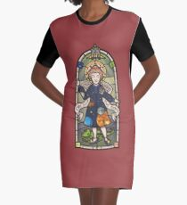 Our Lady of Education Graphic T-Shirt Dress