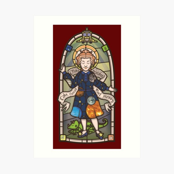 Our Lady of Education Art Print