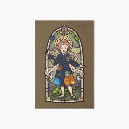 Our Lady of Education Art Board Print