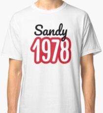 b23024cfb Sandy 1978 Classic T-Shirt. $20.73. 40th Birthday ...