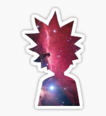 Rick and Morty Galaxy Sticker