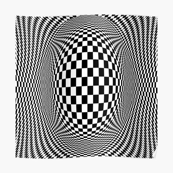 Optical Illusion - Visual Illusion Poster