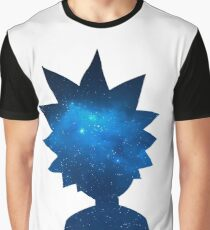 Rick and Morty Universe Silhouette Graphic T-Shirt