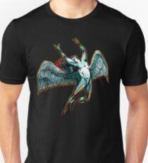 ICARUS THROWS THE HORNS - dark shadows  ***find hidden gems in my portfolio*** Unisex T-Shirt