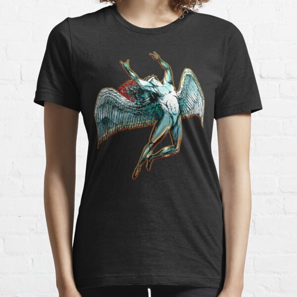 ICARUS THROWS THE HORNS - dark shadows  *awesome UNLISTED designs in my portfolio* Essential T-Shirt