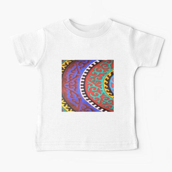 #Ковровый #узор #балкарского #карачаевского #войлочного #ковра #Carpet #pattern of a #Balkarian & #Karachay #felt #carpet #Ковровыйузор #CarpetPattern #таулу #tawlu #mountaineer #таулула #tawlula Baby T-Shirt