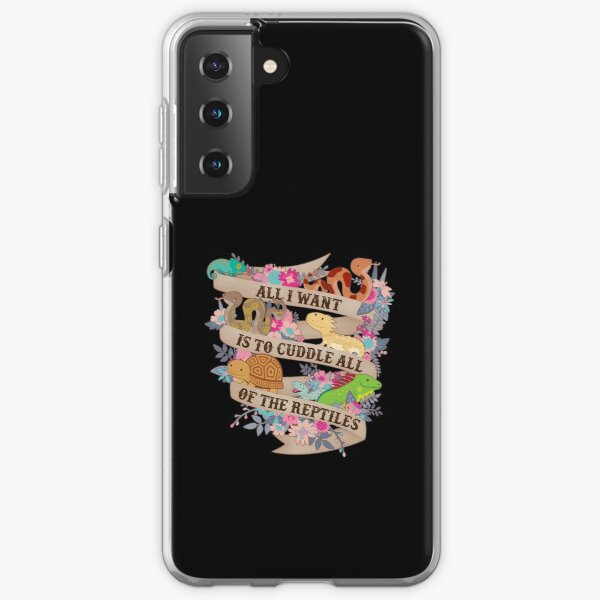 Cuddle All Of The Reptiles Samsung Galaxy Soft Case