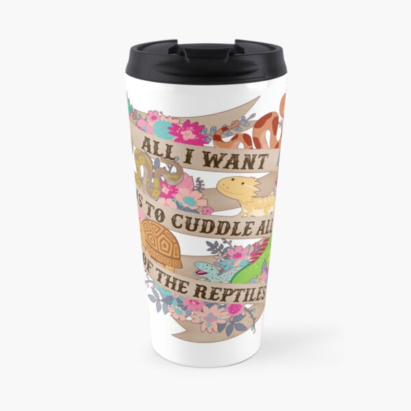 Cuddle All Of The Reptiles Travel Mug