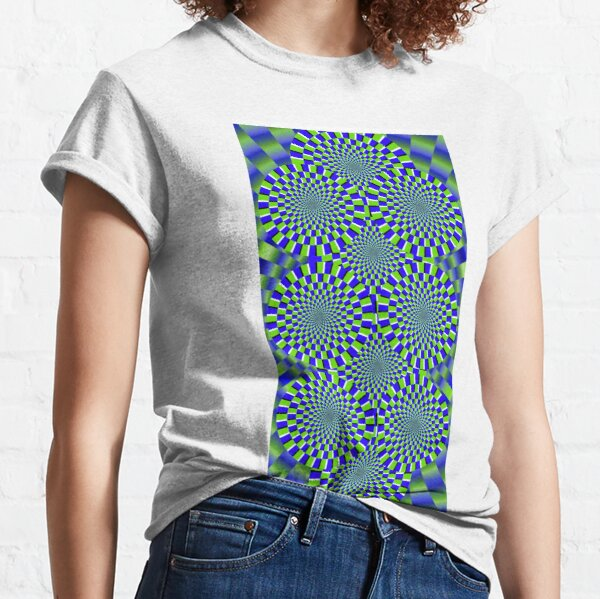 Optical Illusion, visual illusion Classic T-Shirt