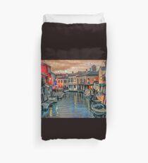 Twilight in Murano Duvet Cover