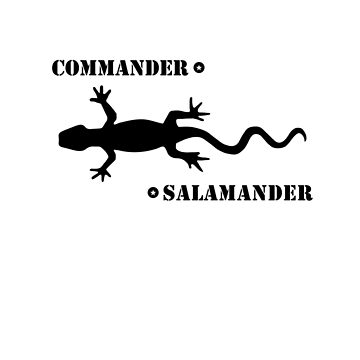 Commander Salamander - Washington D.C. by Fitcharoo