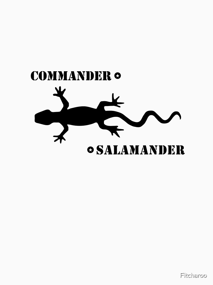 Commander Salamander - Washington D.C. | Unisex T-Shirt