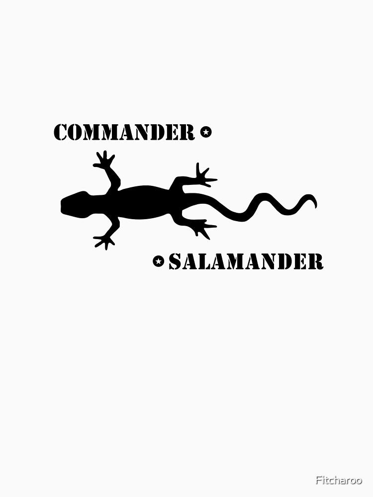 Commander Salamander - Washington D.C. | Unisex T-Shirt
