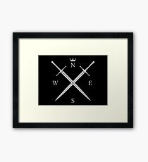 King In The North Merchandise Framed Print