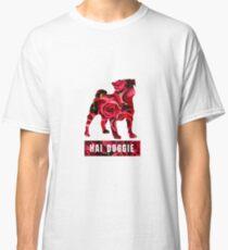 Hai Doggie Floral Classic T-Shirt