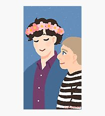 Flower Crown Photographic Print