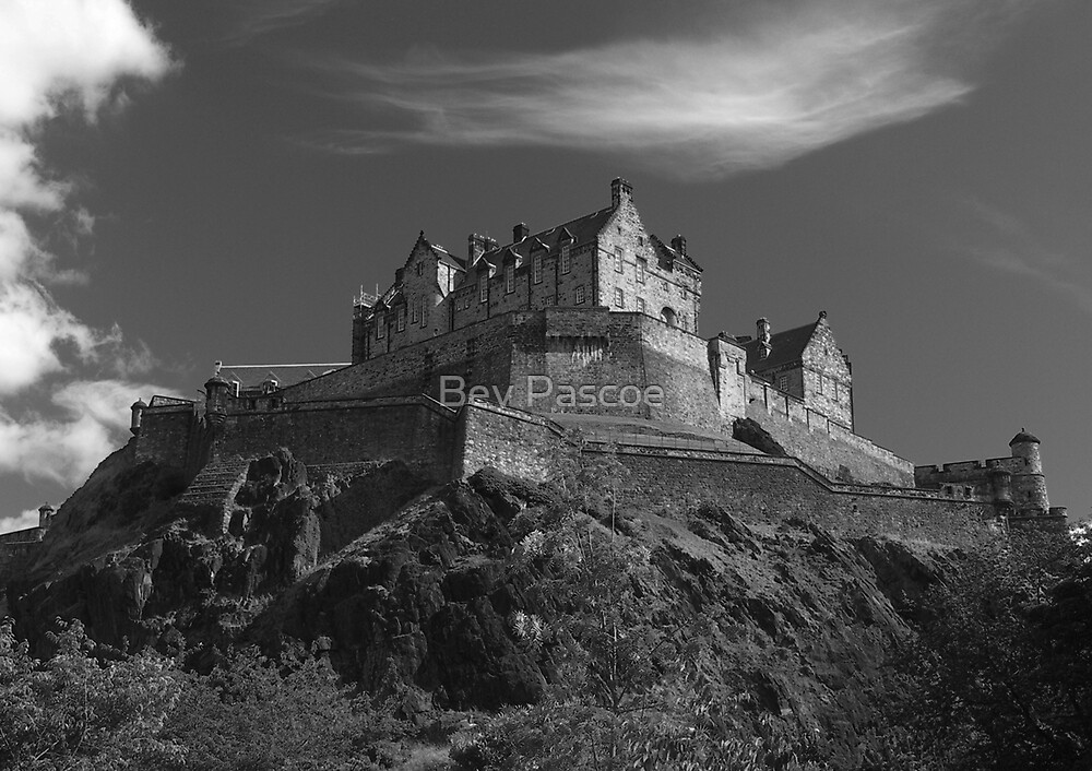 Edinburgh Castle  by Bev Pascoe