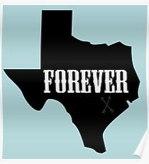 Texas Forever (Friday Night Lights) Poster