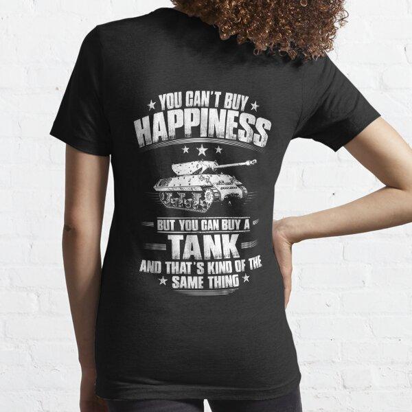 Tanque / Panzer / Panzertank / Cisterna / Ejército / Regalo / Presente Camiseta esencial