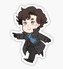 Sherlock Sticker
