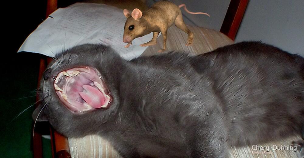 eeeek a mouse by Cheryl Dunning