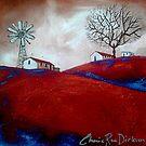 Windmill in the Karoo by Cherie Roe Dirksen