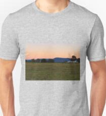 Early morning on the farm Unisex T-Shirt