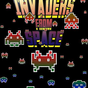 Invaders from Space by NigelSpudCarrot
