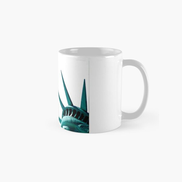 Lady Liberty Likes Her Waffles Too Classic Mug